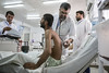 Dr. Shah Wali does his daily rounds to ascertain the medical conditions of patients admitted to the hospital.   © EMERGENCY 2019. All rights reserved. Licensed to the European Union under conditions.