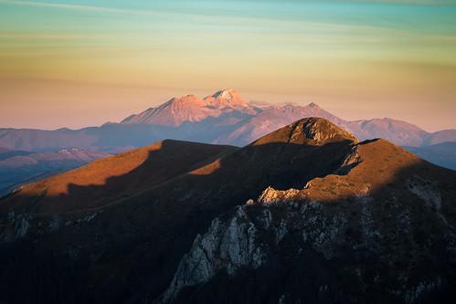 70d appennini autunno canon fall italia italy lazio montagna mountains rieti sunset terminillo gransasso landscape tramonto snow mountain canonef70200mmf4lusm
