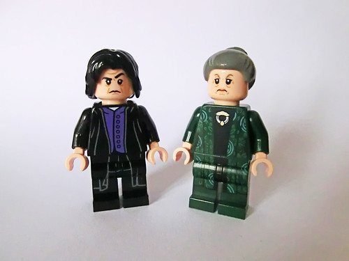 Snape & McGonagall (alternate outfits)   by Ptéra