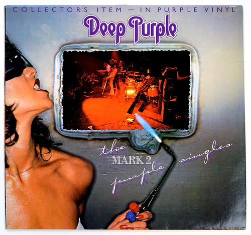 A0696 DEEP PURPLE The Mark 2 Purple Singles   by vinylmeister