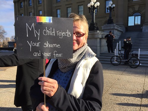 March & Rally to Support LGBTQ2S+ Students & GSAs   by livingsanctuary