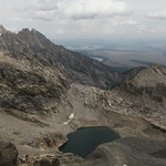Timberline Lake from Static Peak