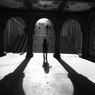 Bethesda Terrace Light and Shadow | by DJ Lanphier