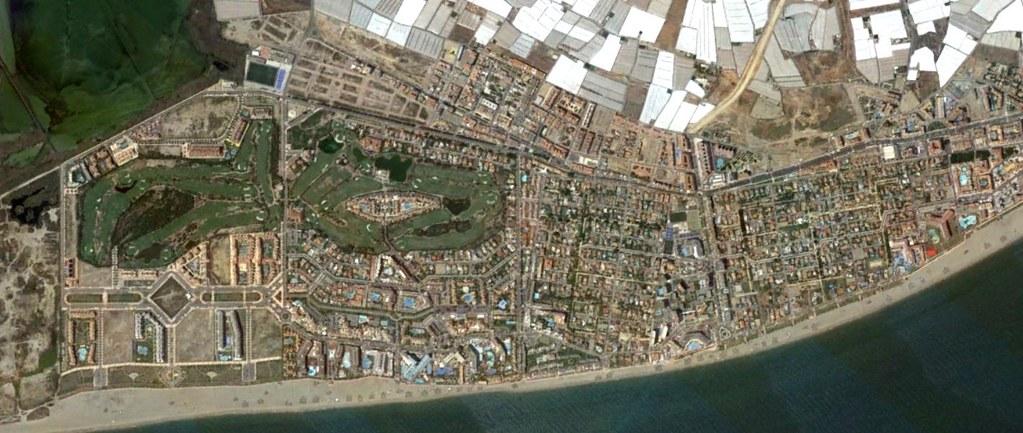 las marinas, roquetas de mar, almería, las andreas, después, urbanismo, planeamiento, urbano, desastre, urbanístico, construcción, rotondas, carretera