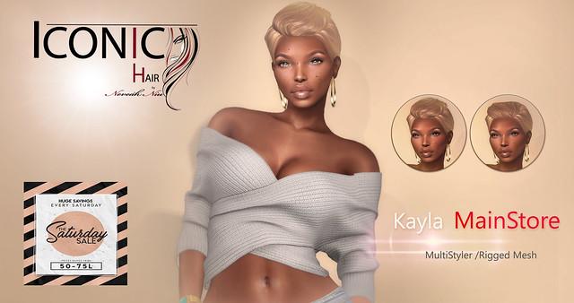 Kayla Saturday Sale!