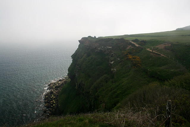The coast south of Whitby, North Yorkshire
