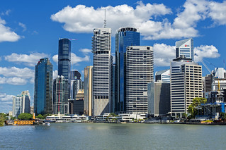 Eagle St Pier and Brisbane CBD | by bidkev1 and son (see profile)
