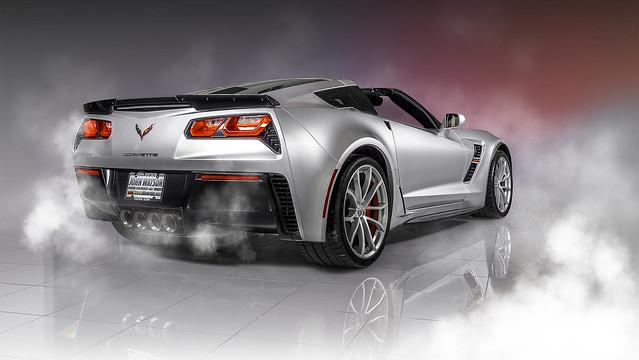 2019 Grey Corvette Grand Sport