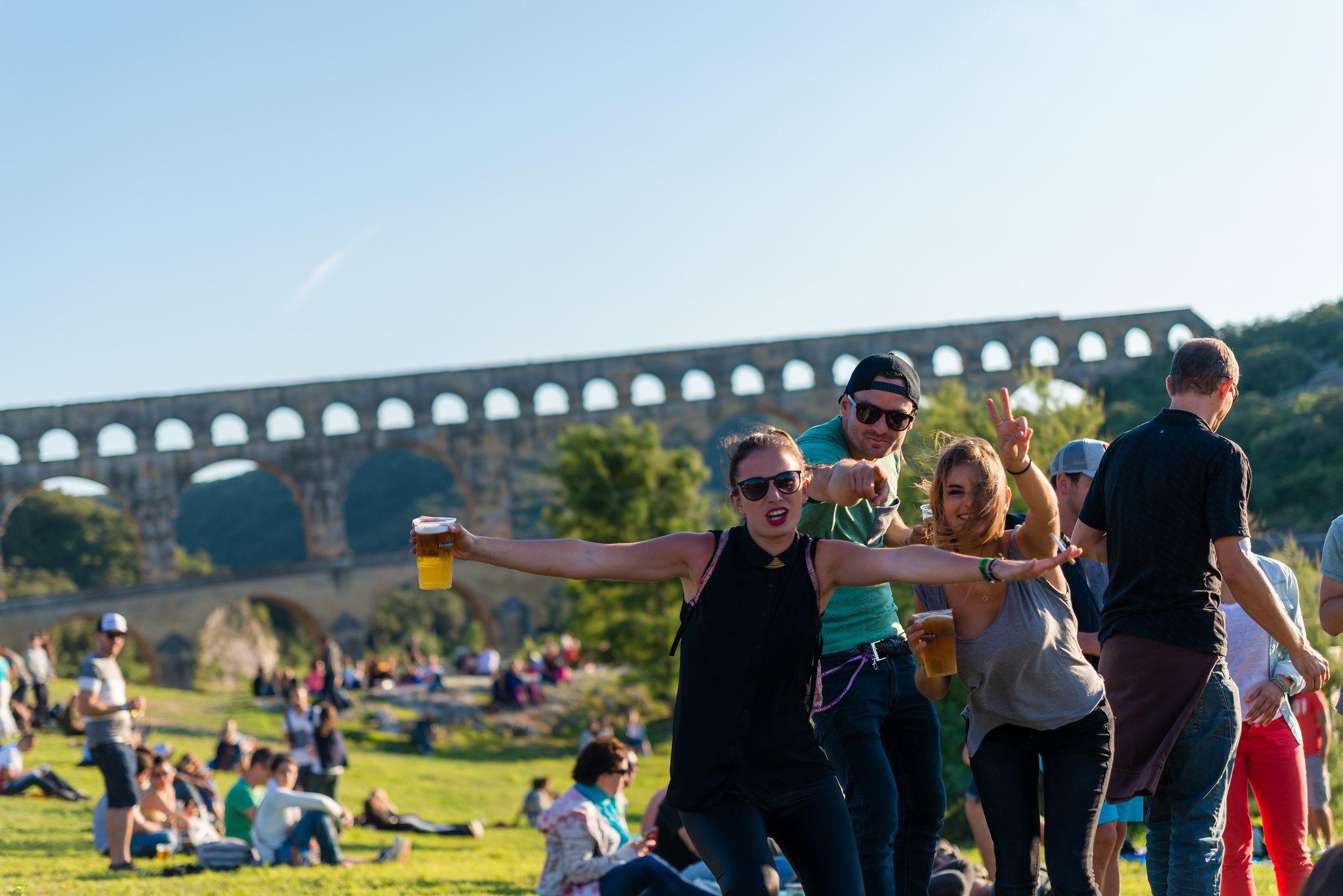 Live au Pont - Pont du Gard, France