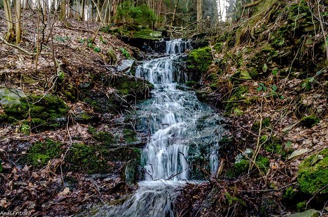 Am kleinen Wasserfall/ at the small waterfall