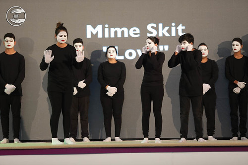 Mime skit on Love