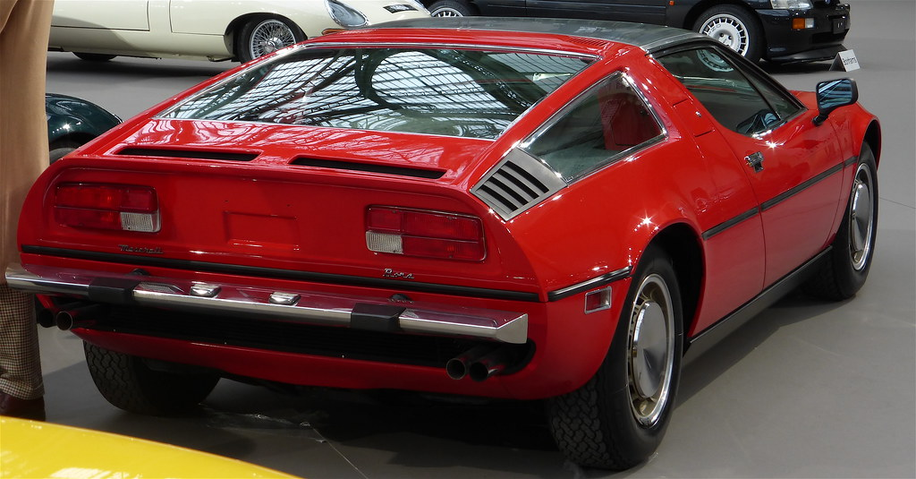 Maserati Bora 4,9 litres Coupé 1973   Emmanuel Viard   Flickr