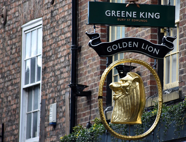Golden Lion - Golden Signs in York