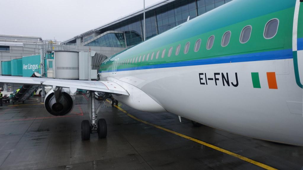 Boarding Aer Lingus Airbus A320 200 Ei Fnj Terminal 2 Flickr