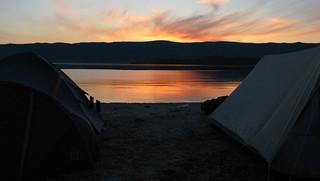 Evening at Baikal.