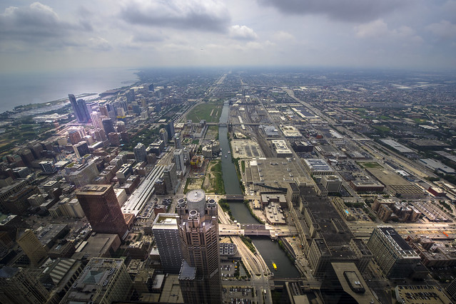 View from Willis Tower - Chicago - Illinois - USA