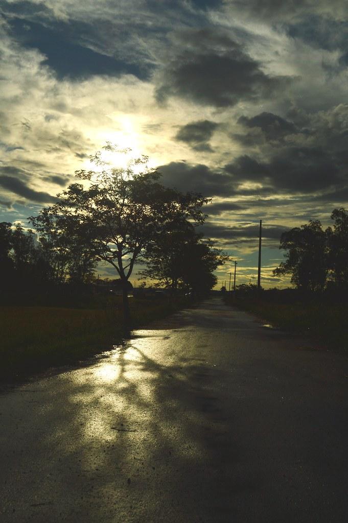 sunset at Vapor Cué