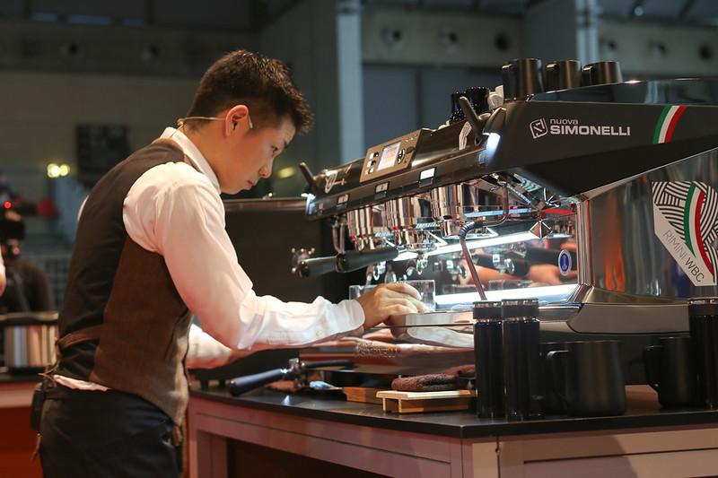 Máy Espresso Nuova Simonelli Aurelia T3 từng được sử dụng cho cuộc thi World Barista