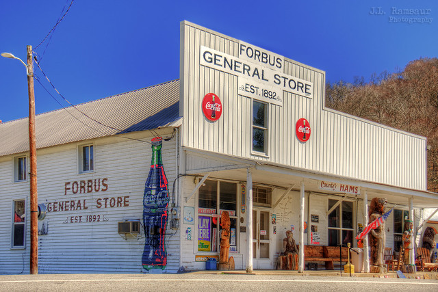 Forbus General Store - Pall Mall, Tennessee