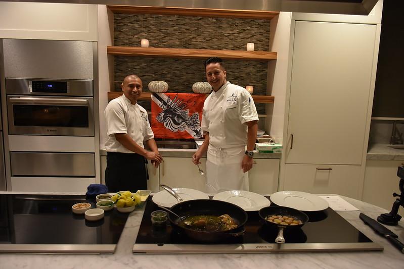 03-27-18  Photos Ritz Cooking Studio Lionfish  53