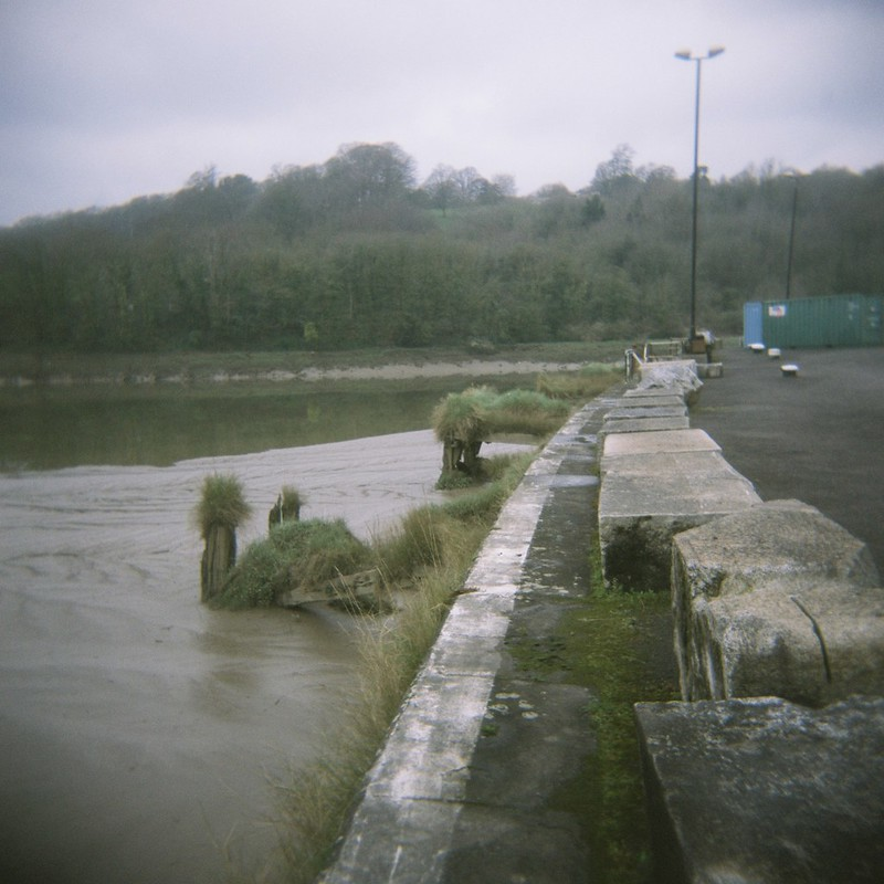 The end of the Floating Harbour