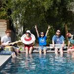 Thu, 15/03/2018 - 12:51pm - Superorganism Live at Hotel San Jose, 3.15.18 Photographers: Gus Philippas