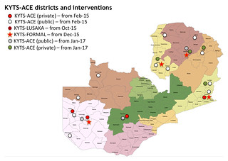 KYTS-ACE districts and interventions | by ColaLife