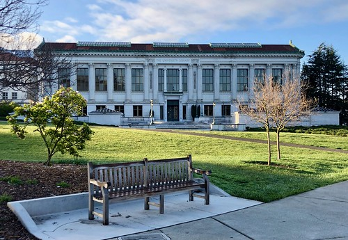 A Learned Bench, UC Berkeley. | by Melinda * Young