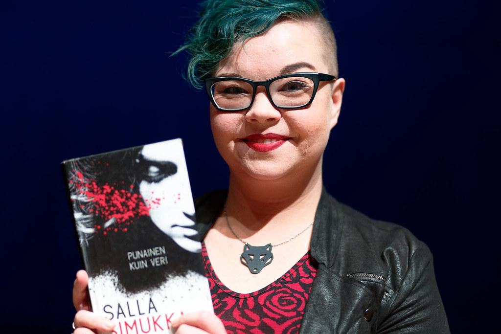 About >> Kirjailijavieraana Salla Simukka | Päivän ensimmäinen ...