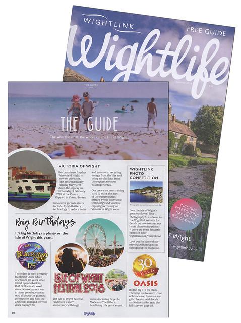 Wightlife magazine - Summer 2018