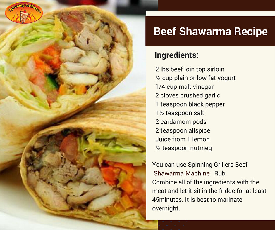 Homemade Beef Shawarma Recipe by Spinning Grillers | Flickr
