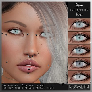 .kosmetik Eye Applier Storm - Blue | by .kosmetik