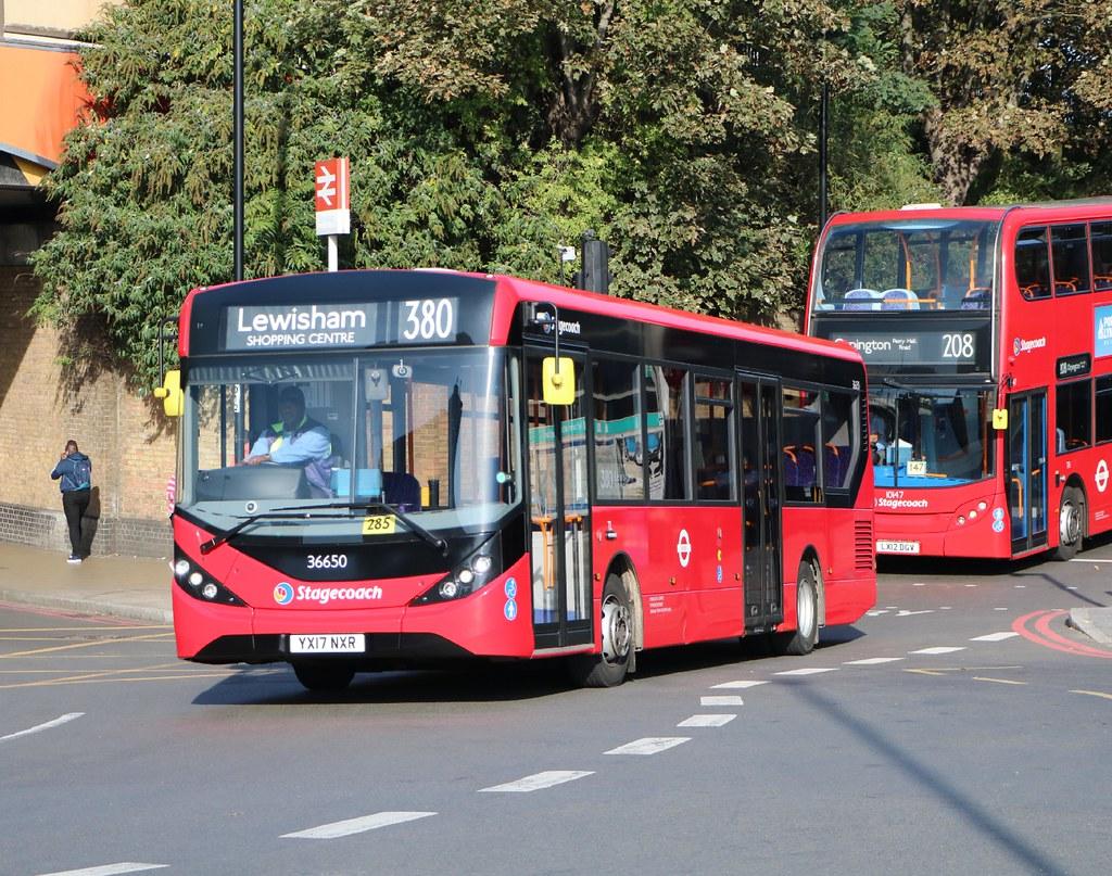 Stagecoach London - 36650 - YX17NXR