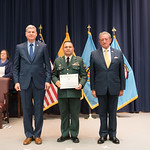 Vi, 03/29/2019 - 14:22 - On Friday, March 29, 2019, the William J. Perry Center for Hemispheric Defense Studies hosted a graduation ceremony for two courses: 'Strategic Implications of Human Rights and Rule of Law' and 'Combating Transnational Threat Networks.' Students from all over the Americas attended the courses from March 18-29, 2019. The graduation ceremony and reception took place in Lincoln Hall at the National Defense University's North Campus at Fort McNair in Washington, DC.