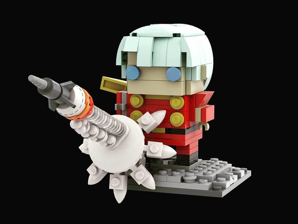 再造人004 Brickheadz 出賣年齡系列 Cyborg004 アルベルト