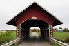 The Guthrie covered bridge in Saint-Armand, Québec by Ullysses