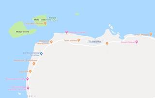 Mapa Les Tipaniers Moorea 1   by Viajeros360