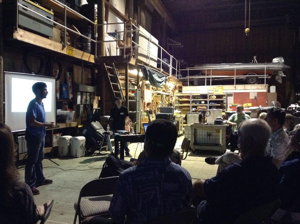 Marine Technology Society Presentation - September 15, 2016
