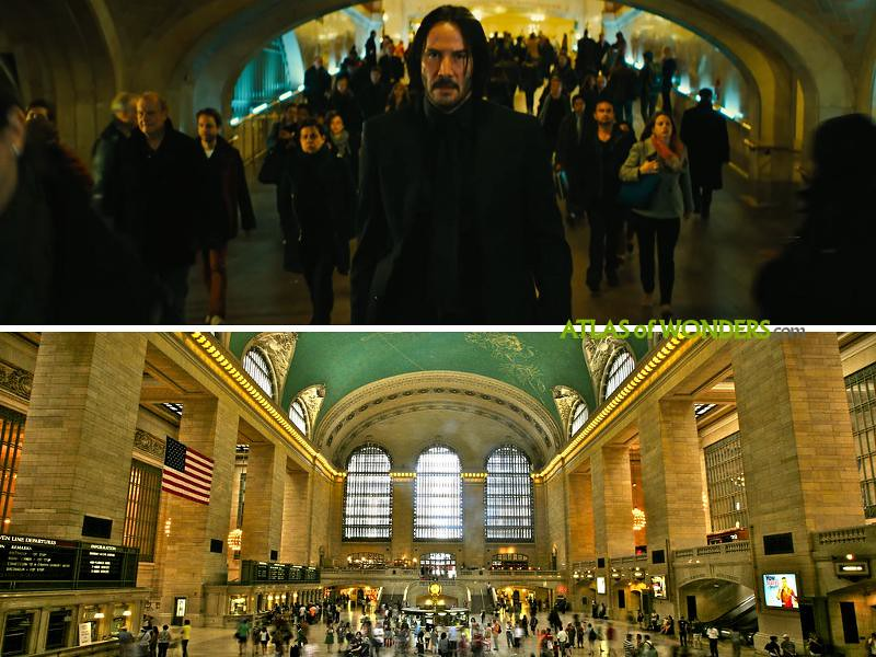 Grand Central Terminal on location