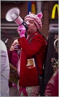Porcine Carnival Band, Lunar New Year, Vancouver