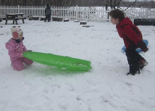 a sled