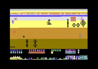 Strontium Dog (Commodore 64)   by Deep Fried Brains