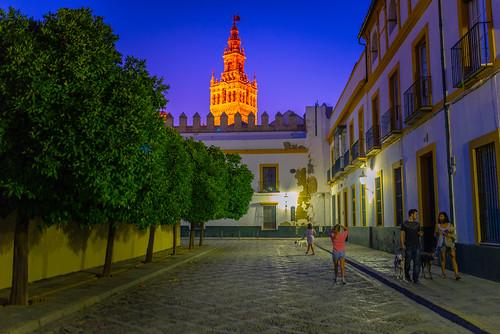 Seville at Night, Spain