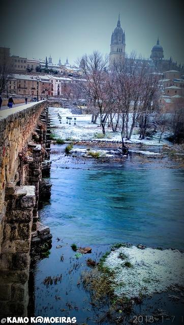 puente romano nieve2018
