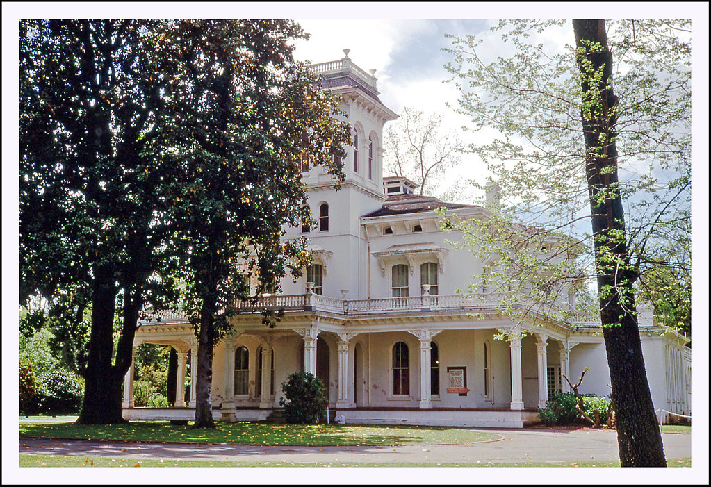 John Bidwell Mansion In Chico California 1969 This 26 R Flickr