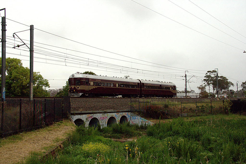 Railcars at Kingswood