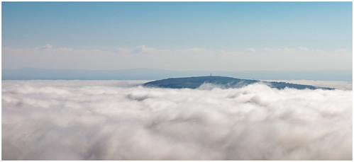 liskeard england unitedkingdom gb caradonhill cornwall inversion clouds hill canon 6dmkii nature outdoors landscape
