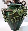 """Oak trees branches"" [""Ramos de Carvalho""] Vase (undated) - Rafael Bordalo Pinheiro (1848 - 1905) by pedrosimoes7"