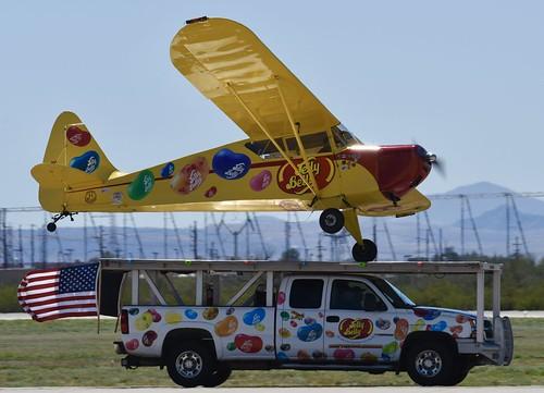 Kent Pietsch, 1942 Interstate Cadet Aircraft, Davis Monthan 2019 Air Show Kent is a super performer with a great show!!