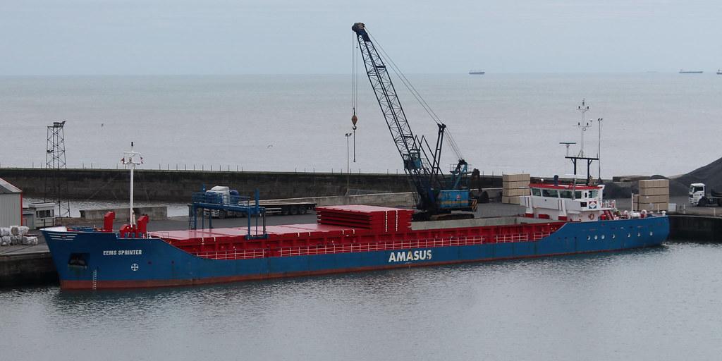 General Cargo Ship: EEMS SPRINTER Seaham Harbour